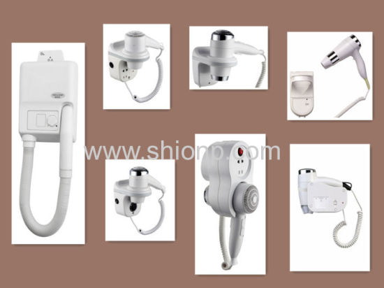 Hang Hair Dryer on Wall