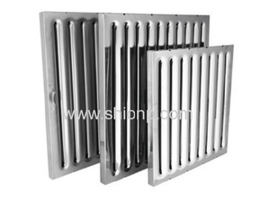 Stainless Steel Baffle Grease Filters