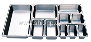Stainless Steel Pans Restaurant