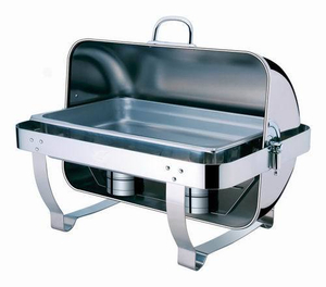 Rectangular Roll Top Chafing Dish