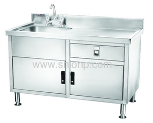 Stainless Work Table with Sink